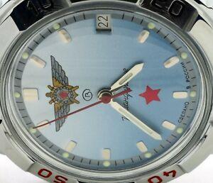 【送料無料】 腕時計 ロシアヴォストークrussian vostok military wrist watch 431290 komandirskie brand