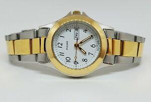 【送料無料】 腕時計 パルサー2ステンレスpulsar womens two tone stainless steel daydate quartz watch