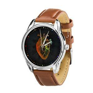 【送料無料】 腕時計 ウォッチクリスマスanatomical heart watercolor best nurse wristwatch watch birthday christmas gift
