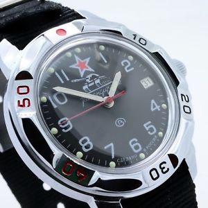 【送料無料】 腕時計 ロシアヴォストークrussian vostok 431306 military wrist watch komandirskie brand