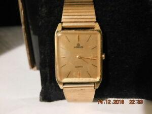 【送料無料】 腕時計 ビンテージクオーツvintage lorus quartz wrist watch    works            no reserve