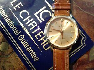 【送料無料】 腕時計 ルシャトーステンレススチールロングle chateau stainless steel watch is 75in long