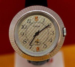 【送料無料】 腕時計 ビンテージロシアビッグホワイトソソvintage russian big white pobeda soviet ussr wrist watch 15 jewels servised