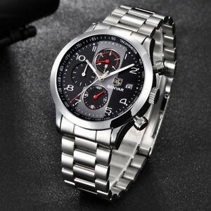 【送料無料】 腕時計 スポーツクロノグラフファッションメンズブランドbenyar sport chronograph fashion watches mens waterproof luxury brand quartz