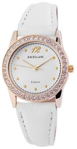 【送料無料】 腕時計 ホワイトアナログw60463611007550womens quartz watch white gold analogue metal leather w60463611007550