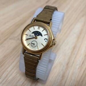 【送料無料】 腕時計 ビンテージビルブラスレディムーンフェイズアナログクォーツバッテリーvintage bill blass lady moon phase analog quartz watch hours~date~ battery