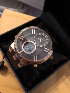 【送料無料】 腕時計 ブラウンゴールドaxiom 6004 brown amp; gold wristwatch