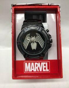 【送料無料】 腕時計 ステンレスリードmarvel venom stainless steel led light up watch