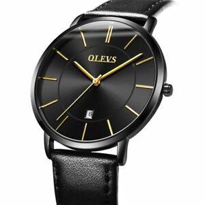 【送料無料】 腕時計 ファッションカジュアルレザーウォッチmale wristwatches ultra thin fashion and casual leather watch alloy waterproof