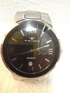 【送料無料】 腕時計 カレンダーtavan mans calendar working wrist watch