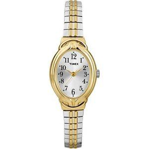 【送料無料】 腕時計 タイメックスt2n980ツートンカラーカバティーナウォッチtimex t2n980, womens twotone cavatina expansion watch
