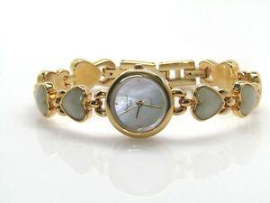 【送料無料】 腕時計 メインラインmain line time genuine gemstone heart watch