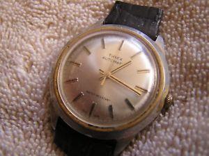 【送料無料】 腕時計 ビンテージvintage timex automatic