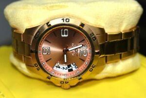 【送料無料】 腕時計 インヴィクタ15120ゴールドステンレスwinvicta 15120 rose gold ladies stainless steel quartz watch w box date