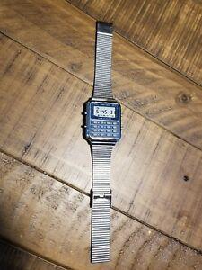 【送料無料】 腕時計 ビンテージウォッチ1984 vintage compu chron lcd calculator watch