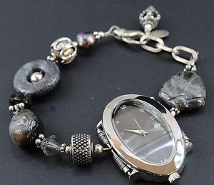 【送料無料】 腕時計 アートステンレススチールブレスレット
