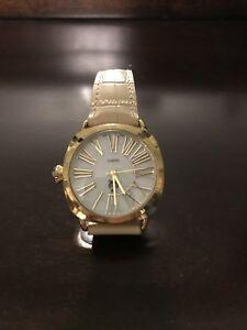 【送料無料】 腕時計 ウォッチ gold and tan watch leather