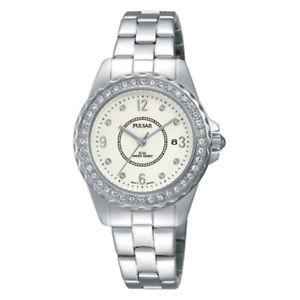 【送料無料】 腕時計 フェーズパルサーレディーススワロフスキーブレスレットウォッチph7405x1 pulsar ladies swarovski gold plated bracelet watch