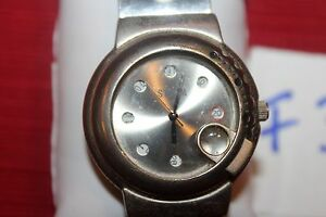 【送料無料】 腕時計 ディスクシルバークォーツstorm rotation disc silver tone quartz watch