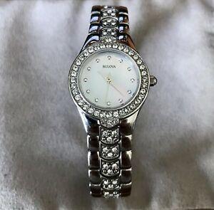 【送料無料】 腕時計 ブローヴァ96t14women's bulova 96t14 wrist watch