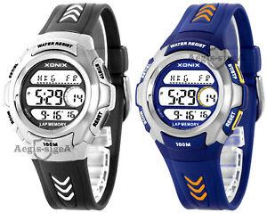 【送料無料】 腕時計 デジタルdigital xonix watch, for men and boys, quartz, world time, waterproof