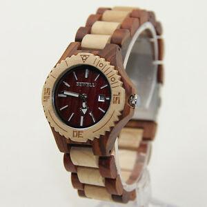 【送料無料】 腕時計 ファッションウォッチwomen watch wood lady watch fashion natural wooden watch for female