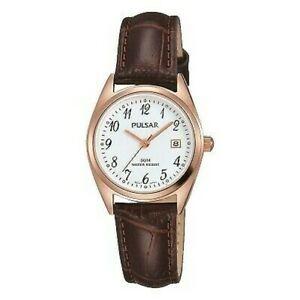 【送料無料】 腕時計 パルサーレディースストラップ×pulsar ladies leather strap watch ph7448x1pnp