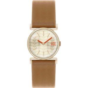 【送料無料】 腕時計 レディースストラップorla kiely cecilia ladies leather strap watch ok2050oknp
