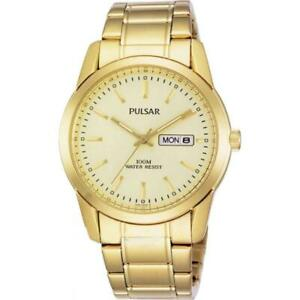 【送料無料】 腕時計 パルサー×pulsar gents gold plated watch pj6024x1pnp