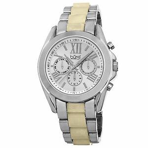 【送料無料】 腕時計 バールスイスクォーツマルチファンクショントーンカラーブレスレット womens burgi bur094ss swiss quartz multifunction twotone bracelet watch