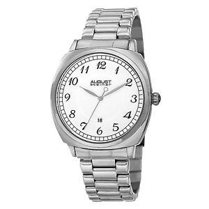 【送料無料】 腕時計 シュタイナーメンズaugust steiner mens classsic as8160ss wrist watch