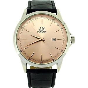 【送料無料】 腕時計 ロンドンジャンボローズゴールドトーンワニストラップウォッチ