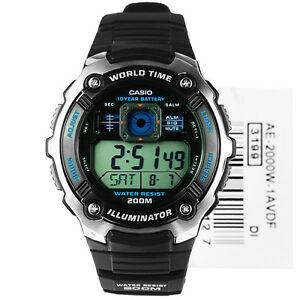 【送料無料】 腕時計 ae2000w1avスポーツアラーム