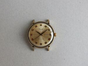 【送料無料】 腕時計 ロシア2609 17ゴールドヴィンテージソpoljotvintage soviet wristwatch poljot russian wrist watch 2609 17 jewels gold plated