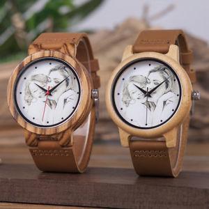 【送料無料】 腕時計 パーソナライズカスタマイズプリントpersonalized wooden watch customized photo image print watches anniversary gifts