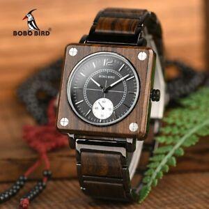 【送料無料】 腕時計 ボボトップブランドウォッチbobo bird top brand luxury men relogio masculino quartz wooden watch
