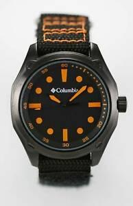 【送料無料】 腕時計 コロンビアフロンティアメンズウォッチステンレススチールナイロン