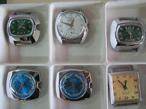 【送料無料】 腕時計 ヴィンテージスイスフェルトマンvintages swiss made wrist watches fero feldmann 17 jewels