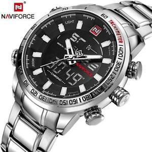 【送料無料】 腕時計 メンズクオーツアナログファッションスポーツnaviforce mens quartz analog wristwatch luxury fashion sport wristwatch waterpro