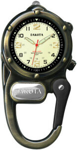 【送料無料】 腕時計 ダコタミニクリップmicrolightミニリードボックス3821dakota mini clip microlight watch led mini light water resistant gift box 3821