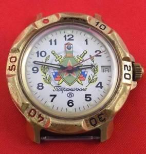 [定休日以外毎日出荷中] 【送料無料】 腕時計 ヴォストークフロンティアロシアメンズboctok vostok komandirskie frontier troops russian military mens wrist watch, 児玉郡 50b80846