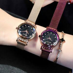 【送料無料】 腕時計 マグネットストラップバックルステンレスクォーツ