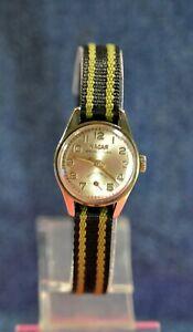 【送料無料】 腕時計 スイスレディケースnacar ~17j rare calfhf36 swiss elegant vtg ladys gp case wristwatch c1970s