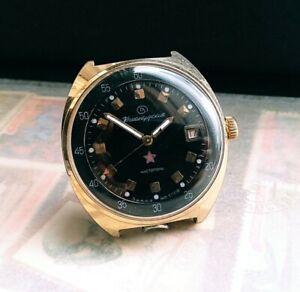 【送料無料】 腕時計 ヴォストークビンテージウォッチvostok komandirskie military watch vintage cal2234 with stop second function