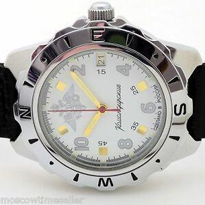 【送料無料】 腕時計 ロシアヴォストーク#russian vostok 641685 military wrist watch komandirskie brand