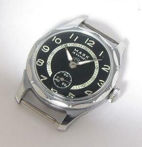 【送料無料】 腕時計 ソソearly mayak majak pobeda navy military soviet ussr wristwatch 1950s serviced