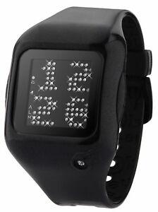 【送料無料】 腕時計 アニメーションホワイトクリスタルケーススクロールメッセージ