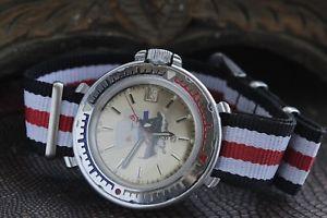 【送料無料】 腕時計 wostokボストークアホウドリロシアサービスwostok vostok albatross amphibian mens wrist watch serviced russian