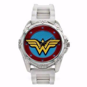 【送料無料】 腕時計 ワンダーウーマンwow9047wonder woman white watch wow9047