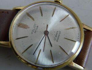【送料無料】 腕時計 スリムエクスポートソpoljot de luxe slim export luch ussr wristwatch 2209 cal 23 j